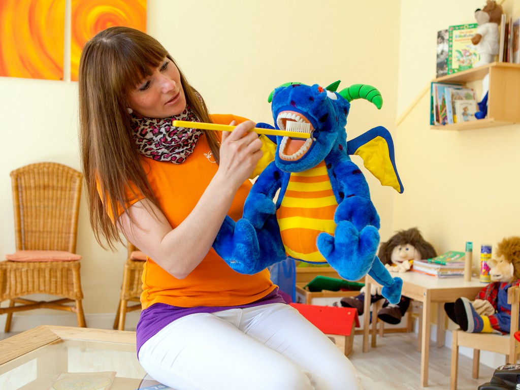 Hektor und Nicole - Außendienst für den Kindergarten